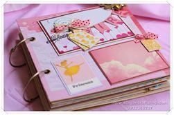 Scrapbook - album ảnh cho bé gái