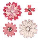 Khuôn cắt Bigz Die - Flower Layers w/Heart Petals