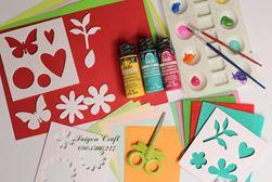 Bộ nguyên liệu craft cho bé sáng tạo
