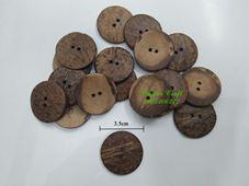 Nút gỗ dừa - 3.5cm