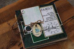 Scrapbook - album ảnh Family