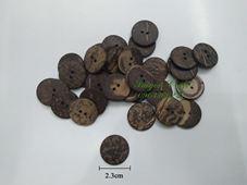 Nút gỗ dừa - 2.3cm