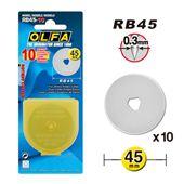 Lưỡi dao cắt tròn - Rotary Cutter Blade OLFA 45mm (Có hộp)