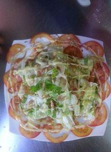 salad trôn dầu giấm