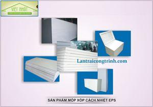 Phương pháp thi công - Xốp cách nhiệt EPS