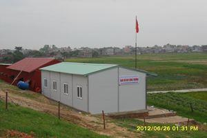 Lán trại - Nhà điều hành - Dự án thủy lợi sông Hồng