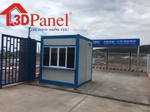Container lắp ghép panel 3D mẫu 01