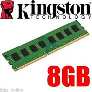 RAM Kingston 8Gb DDR3 1600 Non-ECC KVR16N11/8