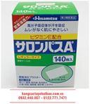 Cao dán trị đau mỏi xương khớp Salonpas Hisamitsu 140 miếng - Nhật Bản
