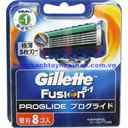 Lưỡi Dao Cạo Râu Gillette Fusion ProGlide 5+1 – Nhật Bản