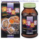 Tinh chất hàu tươi, tỏi, nghệ 180 viên Orihiro - Giải độc gan, bổ dương - Nhật Bản