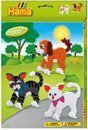 Hộp quà Hama xếp hình chó và mèo