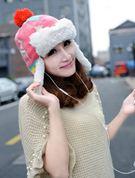 Mũ len bông Hàn Quốc GISMO 40