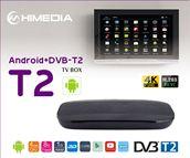 HIMEDIA T2 - Android Box kết Hợp Đầu Thu KTS DVB T2