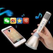 Micro kèm loa Bluetooth hát Karaoke 3 Trong 1