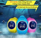 Đồng hồ GPS ITV Q530 - Chống Nước IP68