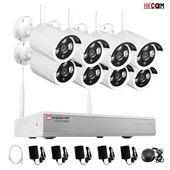 Bộ Camera Không Dây NVR KIT HKCAM IP-PRO N98K - 8 Mắt 1 Đầu Ghi - 1.3M 960P Đa Năng