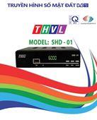Đầu thu DVB-T2 SHD-01 Đài TH Vĩnh Long