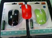 Chuột không dây Laxer LX 125, Thời Trang, Giá rẻ
