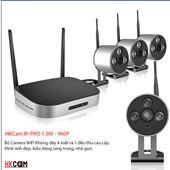 Bộ Camera Không Dây NVR KIT HKCAM IP-PRO 1.3M 960P - Nhỏ Nhắn, Sang Trọng, Đa Năng