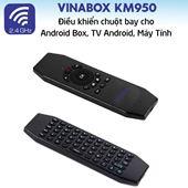 Chuột bay bàn phím VINABOX KM950 không voice - sử dụng pin sạc