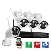 HD NVR K96041 - Bộ camera wifi 1 đầu ghi + 4 mắt camera 720P