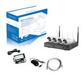 HD NVR K96043 - BỘ CAMERA WIFI 1 ĐẦU GHI + 4 MẮT CAMERA 960P