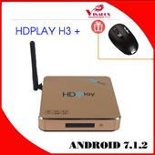 HDPLAY H3 PLUS - Khai Phóng Chuẩn Mực Android Box Gia Đình