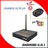 VINABOX X2 PLUS – CHIP RK3229, ANDROID 6.0.1 CHÍNH HÃNG