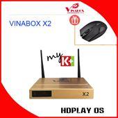 VINABOX X2 - Android Box Hàng Công Ty, Giá Hấp Dẫn, Lõi Tứ, Ram 1G.