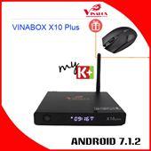 VINABOX X10 PLUS - Đẳng Cấp Hơn, Mạnh Mẽ Hơn, Android 7 Nougat