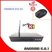 VINABOX X10-3G Ram, TV BOX Cấu Hình Mạnh Nhất 2017