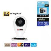 Camera WiFi Mini Giá Rẻ-  Y1- HD 720P - Hồng Ngoại (Đêm ngày)