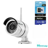 Camera IP WiFi Ngoài Trời – Vimtag B1-S – 1080P FullHD, 2.0 MPX, Siêu Nét