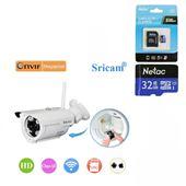 Camera WIFI Ngoài Trời SRICAM Sp007 - 720P HD, Hỗ trợ thẻ 128G