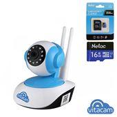 Vitacam VT1080 - Camera IP 2.0Mpx Full HD 1080P, Xoay 355 độ - Chính hãng, giá rẻ