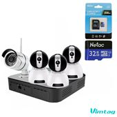 [Combo] Vimtag 3 Camera Indoor CP1 - 1 camera Outdoor B1 - 1 ổ lưu trữ Vimtag CloudBox lưu trữ 1Tb
