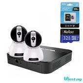 [Combo] 2 x Camera trong nhà CP1 HD 720P cộng ổ cứng S1 1Terabyte