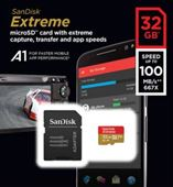 Thẻ nhớ Sandisk micro SDXC 32GB 100/60MB/s Extreme