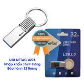 USB NETAC U276 32GB, CHUẨN 3.0 MỚI NHẤT, PHÂN PHỐI CHÍNH HÃNG