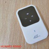 4G WIFI ROUTER HUAWEI RS803 - BỘ PHÁT WIFI TỪ SIM 4G CHÍNH HÃNG
