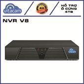 Đầu ghi Vitacam NVR V8 không dây – Kết nối 8 kênh