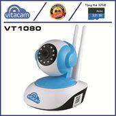Vitacam VT1080 - Camera IP 2.0Mpx Full HD 1080P, Xoay 355 độ - Chính hãng, giá rẻ, BH 2 Năm