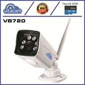Camera IP Ngoài Trời Vitacam VB720 - 1.0Mpx chất lượng HD720P, BH 2 Năm