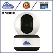 VITACAM C1080 | 2.0MPX - FULLHD 1080P - H.265X - QUAY QUÉT THEO CHUYỂN ĐỘNG