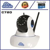 Vitacam C720 - HD 720P - Camera IP WIFI Bán Chạy Nhất - BH 2 Năm