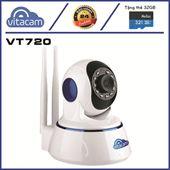 Camera Vitacam VT720P - 1.0mpx - 720P PTZ đàm thoại 2 chiều, BH 2 Năm