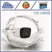 Camera IP Ngoài Trời Vitacam  VB1080II - 2.0Mpx Full HD 1080P  - Có Loa Micro Đàm thoại, ghi âm.