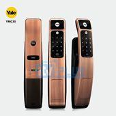 Khóa cửa mã số thẻ từ thông minh Yale YMG30 chính hãng tính năng hiện đại..