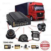 Bộ Camera giám sát xe khách, xe tải, oto 4 Mắt và đầu ghi - hãng Vitacam